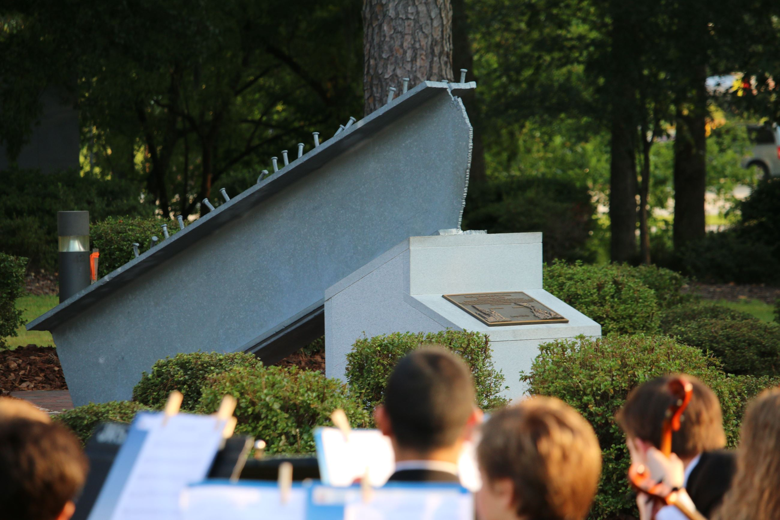 9/11 Memorial Beam, Patriot Day Observance