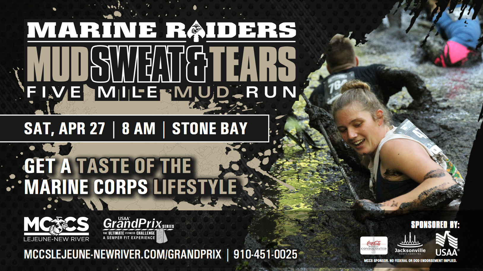 2019 Marine Raiders Mud, Sweat & Tears