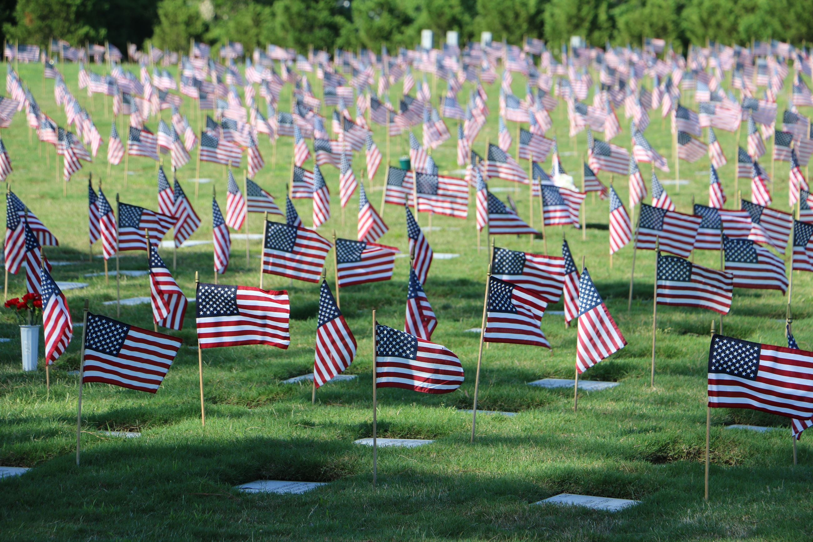Memorial Day at the Veterans Cemetery