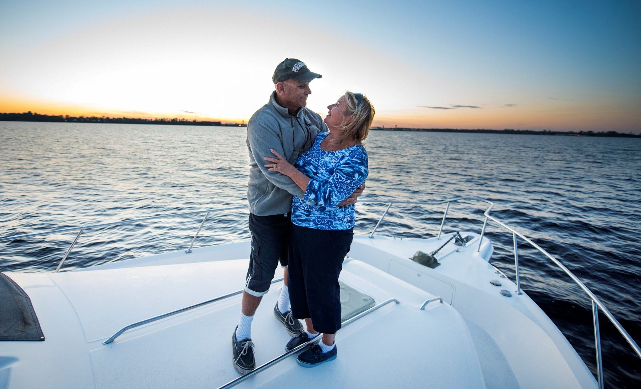 Bayonet Cruises Enterprises, Captain Lance Ledoux and First Mate Marilyn
